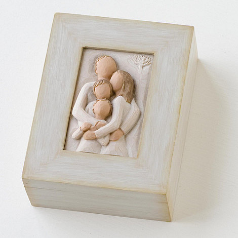 Willow Tree - Natural 'Family Memory Box' figurine