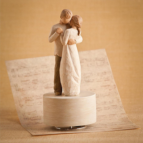 Willow Tree - Natural +Promise+ musical figurine