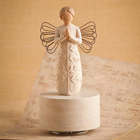 Willow Tree - Natural +A Tree, A Prayer+ musical figurine