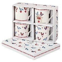 Queens by Churchill - Alex Clark set of 4 mugs