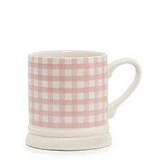 Home Collection - Grey heart tankard mug