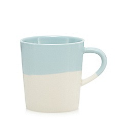Home Collection - Blue half dipped mug