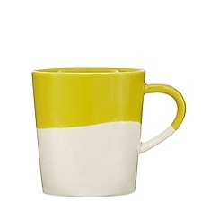 Home Collection - Yellow half dipped mug