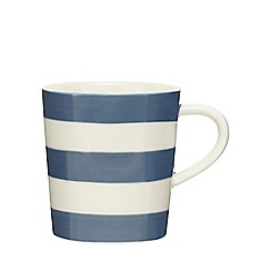 Home Collection - Dark blue striped mug