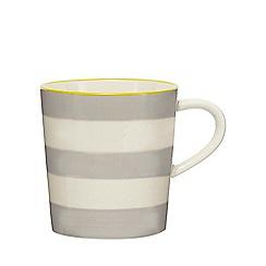 Home Collection - Grey striped mug