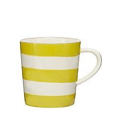 Home Collection - Yellow striped mug
