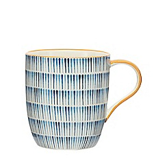 Home Collection - Blue printed mug