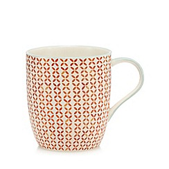 Home Collection - Orange printed mug