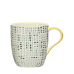 Home Collection - Aqua printed mug