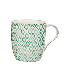 Home Collection - Green printed mug