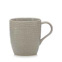 Home Collection - Grey textured mug