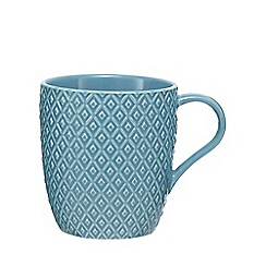 Home Collection - Blue textured mug