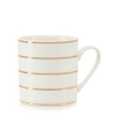 Home Collection - Gold striped print mug