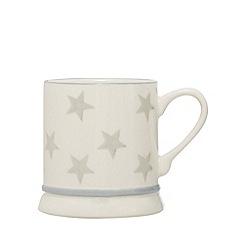 Home Collection - Grey star tankard mug