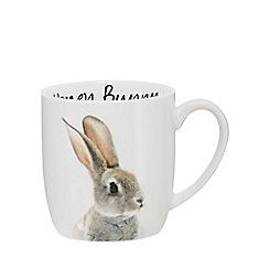 Home Collection - White 'Honey Bunny' bunny mug
