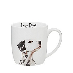 Home Collection - White 'Top Dog' dalmatian mug