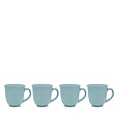 Home Collection - Set of four turquoise mugs