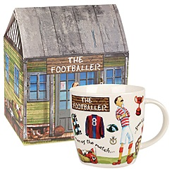 Queens by Churchill - 'The Footballer' mug