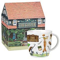 Queens by Churchill - 'The Golfer' mug