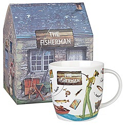 Queens by Churchill - 'The Fisherman' mug