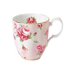 Royal Doulton - Rose blush 100 years of royal albert mug (1980)