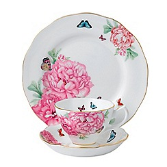 Miranda Kerr for Royal Albert - 'Friendship' 3 piece tea, saucer and plate set