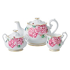 Miranda Kerr for Royal Albert - 'Friendship' 3 piece teapot, sugar and cream set