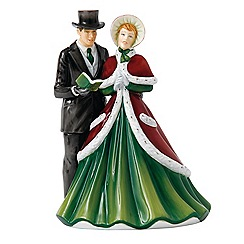 Royal Doulton - 'God Rest Ye Merry Gentlemen' Christmas figure