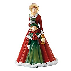 Royal Doulton - 'O Come All Ye Faithful' Christmas figure