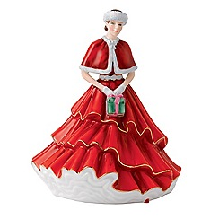 Royal Doulton - 'A Gift For Christmas' 17cm Christmas figure