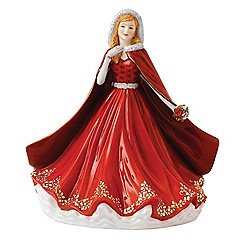 Royal Doulton - 'Festive Memories' 22cm Christmas figure