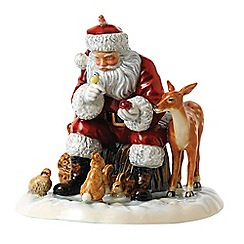 Royal Doulton - A Woodland christmas