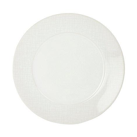 RJR.John Rocha - Designer stoneware +Linear+ dinner plate