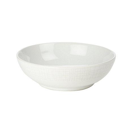 RJR.John Rocha - Designer stoneware +Linear+ cereal bowl