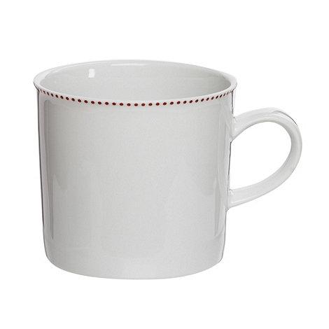 Ben de Lisi Home - Designer porcelain +Polka+ mug
