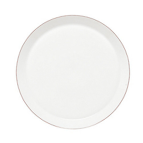 Ben de Lisi Home - Designer porcelain +Polka+ dinner plate