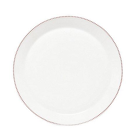 Ben de Lisi Home - Designer porcelain +Polka+ dessert plate