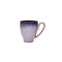 Denby - Glazed 'Heather' rimmed large mug