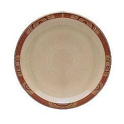 Denby - 'Fire Chilli' dinner plate