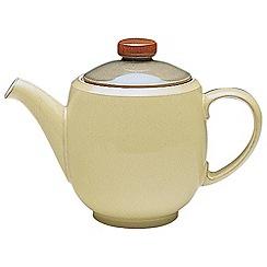 Denby - Cream Fire stoneware teapot