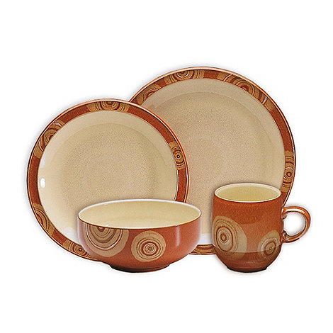 Denby - +Fire Chilli+ 16 piece dinnerware set