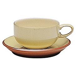 Denby - Fire stoneware saucer
