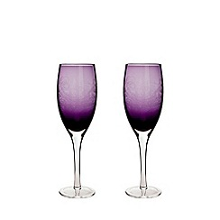 Denby - 2 piece 'Cosmic' white wine glass set