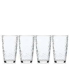 Ben de Lisi Home - Set of four hiball glasses