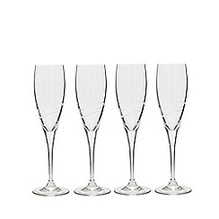 Denby - Set of four Prosecco wine glasses