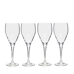Denby - Set of four wine glasses