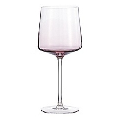 Home Collection - Plum 'Optic' wine glass