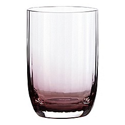 Home Collection - Plum 'Optic' highball glass