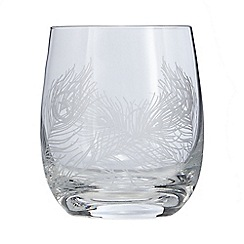Home Collection - Small glass feather tumbler
