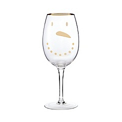 Creative Tops - Snowman wine glass